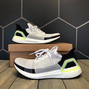 Adidas Ultraboost 2019 White Yellow Size 9